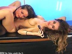 Lori Buckby & Tiff Chalmers lesbian fun pt2