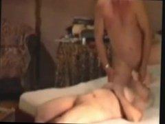 Grannies fucking and masturbating dick by Oma