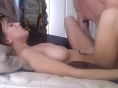 College couple hot sex on webcam