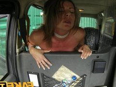 FakeTaxi - Mature milf gets down and dirty