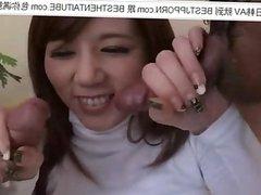 masturbating herself 星美りか, 星美莉香