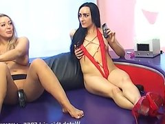 Chloe Lovette & Beth being naughty together