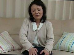 55 yrs old Kayoe Ozawa creampie