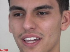 Watch this hot latino gay jerking off