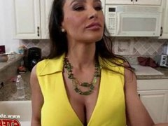 Sexy Lisa Ann licking Ava Taylor's pussy