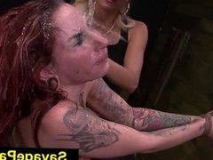 FetishNetwork Sheena Rose lezdom slave