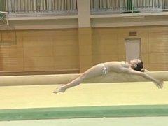 Nude gymnastik / Голая гимнастка