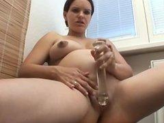 Pregnant - Grace Masturbating