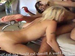 Hot Ebony Vanessa And Blonde Velicity 3-some