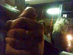 Masturbating in the bus. Любопытная девушка