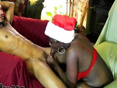 Christmas fucking ebony amateurs