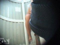Camera in a beach cabin 1519