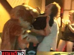18 Party whores sucking s