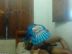 Couple fucking on webcam part 1