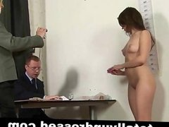 Kinky job interview for wannabe secretary