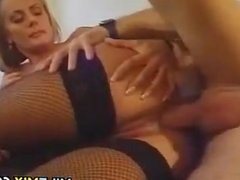 Blonde MILF Fucked In The Ass