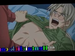 Horny anime gay man fucking hardcore at night