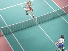 Hentai sex after a game of tennis