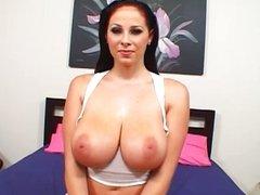 Busty pornstar Gianna Michaels fucking hard
