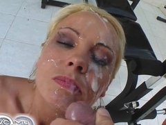 Cum For Cover Mariana's four dick melee ends