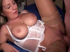 german boy & milf big tits amazing cumshot