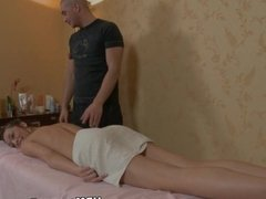 Hot sex massage with pussy and mouth fuck fol