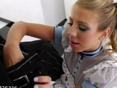 Chastity Lynn ass ruined by black cock