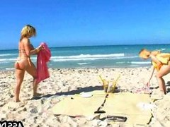 Beach fucking Sara Jay