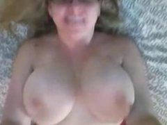 PoV big tit babe talks dirty on her webcam