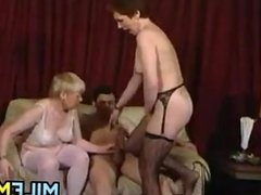 Mature Mothers With A Young Cock