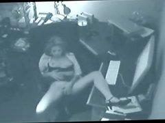 Teen Girl Caught Masturbating