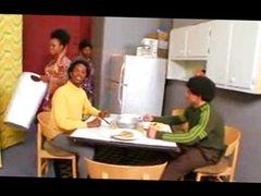 afro-black disco parody