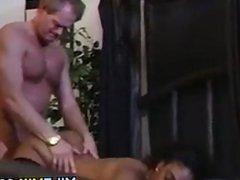 Ebony MILF With A White Guy