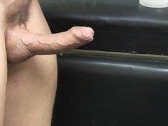Marco Blaze making dildo
