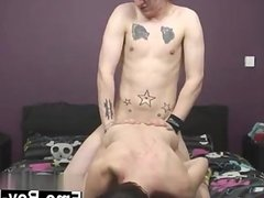 Gay guys Resident Model and Fuck Machine