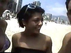Beach Babe Fucking Vintage Porno