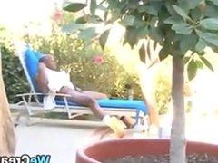 Ebony Slut Gets Cum In Her Pussy