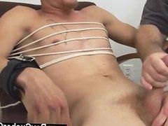 Hot gay scene I slid a rubber pecker over