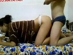 Pinay Doing Her Homework While Fucking From