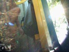 camera in a beach cabin 1515