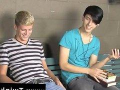 Gay guys Kayden Daniels and Jae Landen have
