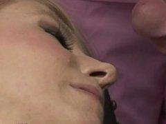 Femdom CFNM doctor and nurses jerk cock
