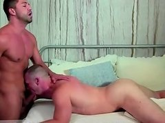 Hardcore gay He's firm and masturbating off