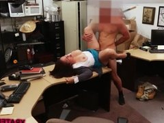 Very sexy busty MILF gets fucked hard