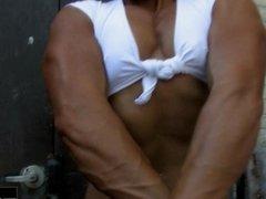 Allison Moyer Jeans Top Chest Pump
