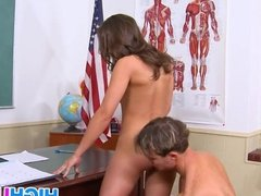 Big ass student gets fucked