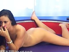 Hot video of completely naked Abbi Goodchild