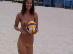 Nude Beach Sports