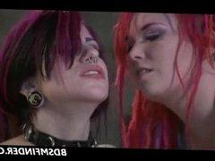 Hot Wax Lesbian Femdom