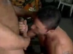Garage Fuck Excites This Nasty Gay Couple